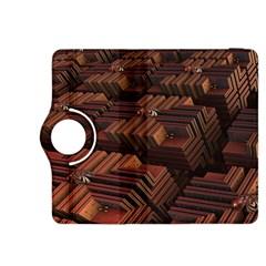 Fractal 3d Render Futuristic Kindle Fire Hdx 8 9  Flip 360 Case