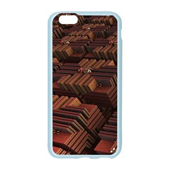Fractal 3d Render Futuristic Apple Seamless iPhone 6/6S Case (Color)