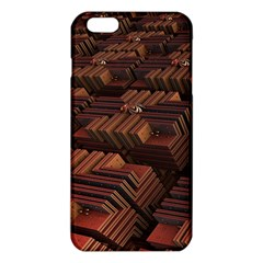 Fractal 3d Render Futuristic iPhone 6 Plus/6S Plus TPU Case