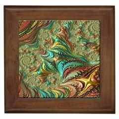 Fractal Artwork Pattern Digital Framed Tiles