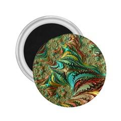 Fractal Artwork Pattern Digital 2.25  Magnets