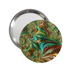Fractal Artwork Pattern Digital 2.25  Handbag Mirrors