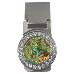 Fractal Artwork Pattern Digital Money Clips (cz)