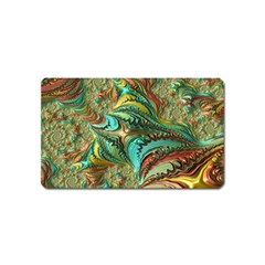 Fractal Artwork Pattern Digital Magnet (Name Card)
