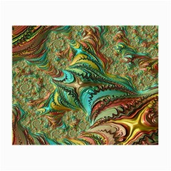 Fractal Artwork Pattern Digital Small Glasses Cloth (2-Side)