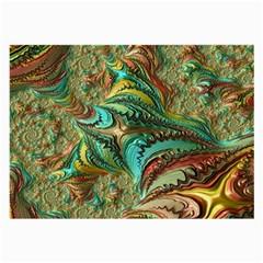 Fractal Artwork Pattern Digital Large Glasses Cloth (2-Side)