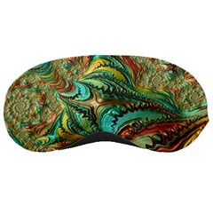 Fractal Artwork Pattern Digital Sleeping Masks