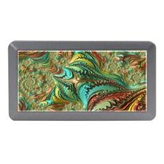 Fractal Artwork Pattern Digital Memory Card Reader (Mini)