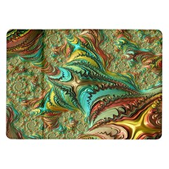Fractal Artwork Pattern Digital Samsung Galaxy Tab 10.1  P7500 Flip Case