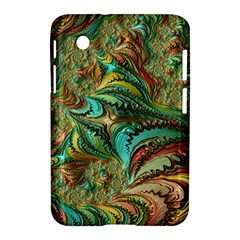 Fractal Artwork Pattern Digital Samsung Galaxy Tab 2 (7 ) P3100 Hardshell Case