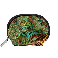 Fractal Artwork Pattern Digital Accessory Pouches (small)