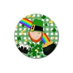 Lucky Irish Magnet 3  (round)