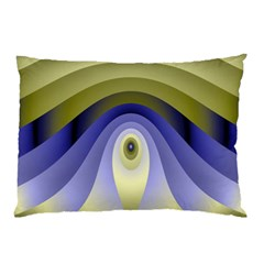 Fractal Eye Fantasy Digital Pillow Case