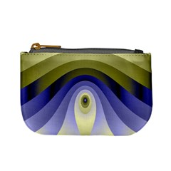 Fractal Eye Fantasy Digital Mini Coin Purses