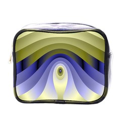 Fractal Eye Fantasy Digital Mini Toiletries Bags