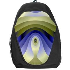 Fractal Eye Fantasy Digital Backpack Bag