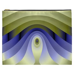 Fractal Eye Fantasy Digital Cosmetic Bag (XXXL)