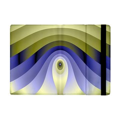 Fractal Eye Fantasy Digital Apple Ipad Mini Flip Case