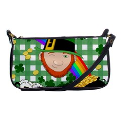 Lucky Irish Shoulder Clutch Bags