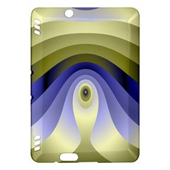 Fractal Eye Fantasy Digital Kindle Fire HDX Hardshell Case