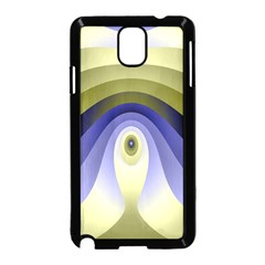 Fractal Eye Fantasy Digital Samsung Galaxy Note 3 Neo Hardshell Case (Black)