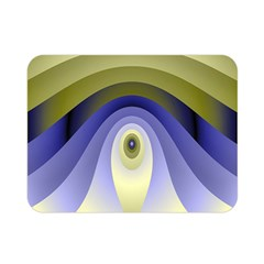 Fractal Eye Fantasy Digital Double Sided Flano Blanket (Mini)