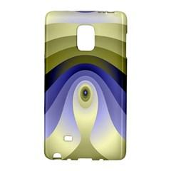 Fractal Eye Fantasy Digital Galaxy Note Edge