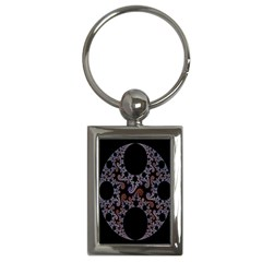 Fractal Complexity Geometric Key Chains (rectangle)