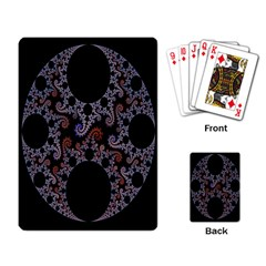 Fractal Complexity Geometric Playing Card