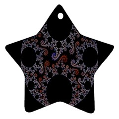Fractal Complexity Geometric Star Ornament (Two Sides)