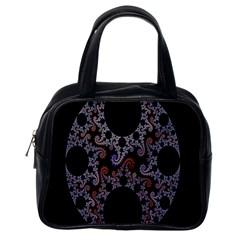 Fractal Complexity Geometric Classic Handbags (One Side)