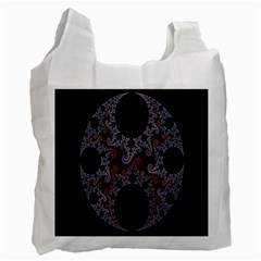 Fractal Complexity Geometric Recycle Bag (Two Side)