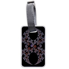 Fractal Complexity Geometric Luggage Tags (Two Sides)