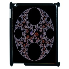 Fractal Complexity Geometric Apple iPad 2 Case (Black)