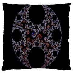 Fractal Complexity Geometric Large Cushion Case (two Sides)