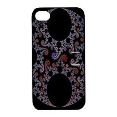 Fractal Complexity Geometric Apple iPhone 4/4S Hardshell Case with Stand
