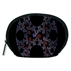 Fractal Complexity Geometric Accessory Pouches (medium)
