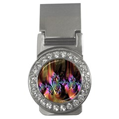 Fractal Colorful Background Money Clips (CZ)