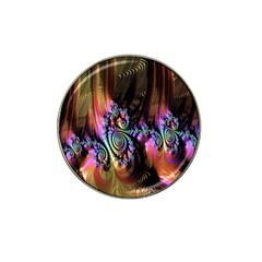 Fractal Colorful Background Hat Clip Ball Marker