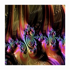 Fractal Colorful Background Medium Glasses Cloth