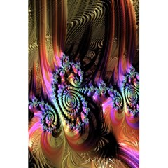 Fractal Colorful Background 5.5  x 8.5  Notebooks