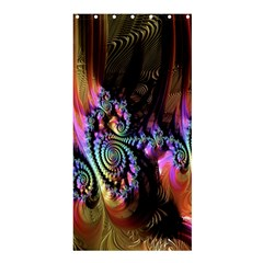 Fractal Colorful Background Shower Curtain 36  x 72  (Stall)
