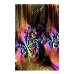 Fractal Colorful Background Shower Curtain 48  x 72  (Small)