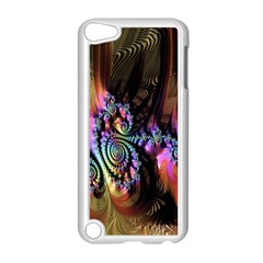 Fractal Colorful Background Apple Ipod Touch 5 Case (white)
