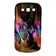 Fractal Colorful Background Samsung Galaxy S III Classic Hardshell Case (PC+Silicone)