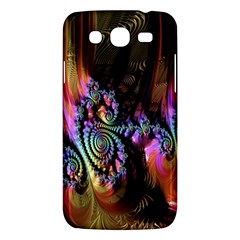Fractal Colorful Background Samsung Galaxy Mega 5 8 I9152 Hardshell Case