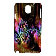 Fractal Colorful Background Samsung Galaxy Note 3 N9005 Hardshell Case