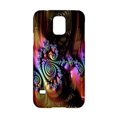 Fractal Colorful Background Samsung Galaxy S5 Hardshell Case
