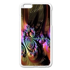 Fractal Colorful Background Apple Iphone 6 Plus/6s Plus Enamel White Case