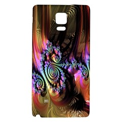 Fractal Colorful Background Galaxy Note 4 Back Case